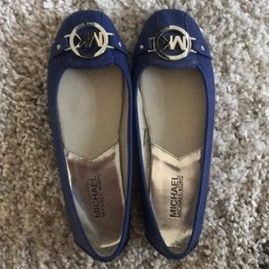 Never worn Michael Kors flats